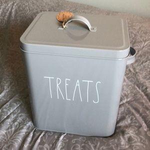 Rae Dunn Pet Treats Tin